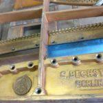 Restauration quart de queue Bechstein modéle A1 de 1926 par Lionel Thierry, Atelier du Piano Gaillacois