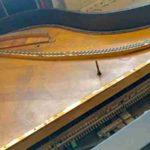 1919 K&C piano Gaillac - La table est en bon état