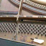 1919 K&C piano Gaillac - Le chassis est en bon état